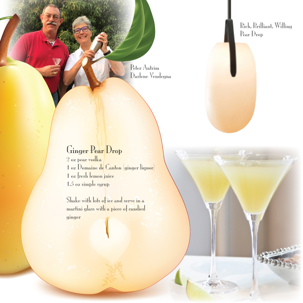 Ginger Pear Drop